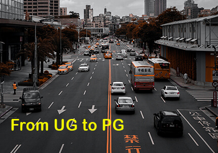 Road map from UG to PG