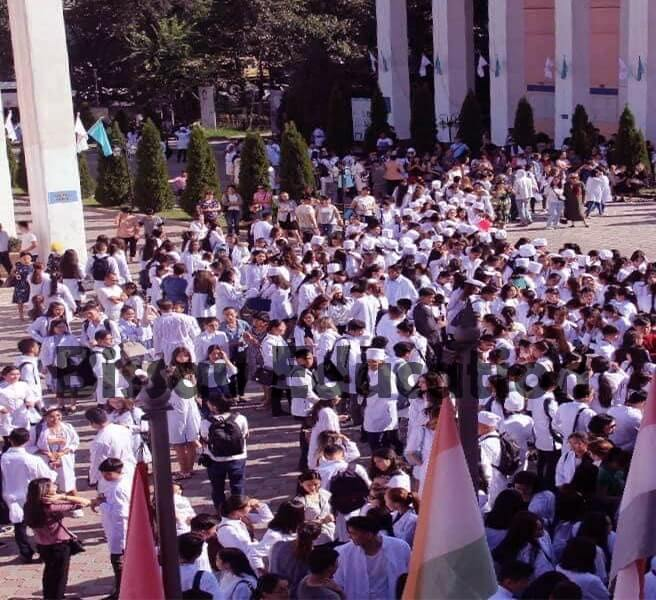 Kazakh National Medical University final year students