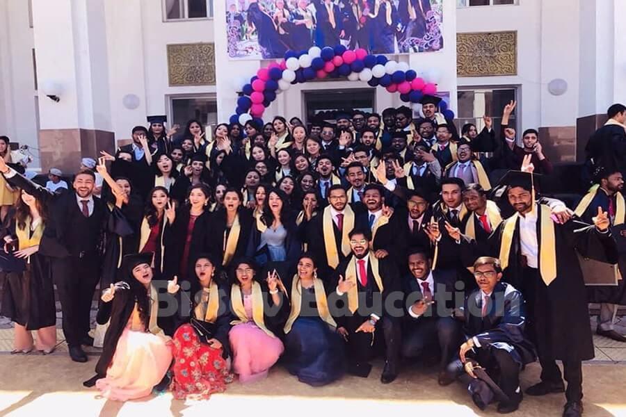 Kazakh National Medical University Indian Students
